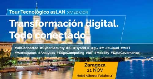 Zaragoza cierra el ciclo de Foros Tecnológicos Aslan de 2019 dedicados a ciberseguridad, transformación digital y cloud híbrida