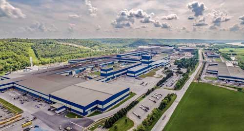 Fábrica de Acerinox en Kentucky, Estados Unidos