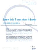 El Gobierno de las TI en un entorno de Sourcing