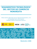 Diagnóstico Tecnológico del Comercio Minorista. Noviembre 2008