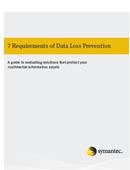 Siete requisitos sobre la prevención de pérdida de datos