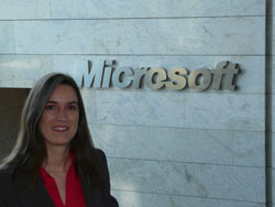 Isabel Bernardos product manager Business & Marketing Operations de Microsoft