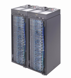 Fujitsu PRIMERGY CX1000 server rack