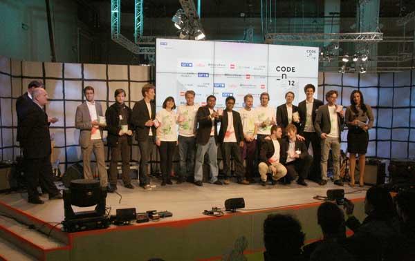 Representantes de los 10 finalistas del CODE-n 12