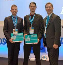 Equipo Evergreen, ganador del IT Challenge 2013