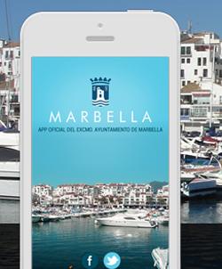 Aplicación móvil del Ayuntamiento de Marbella