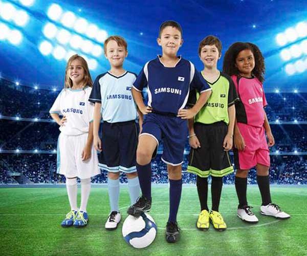 Samsung patrocinador de 1.000 equipos de ligas de fútbol de toda España