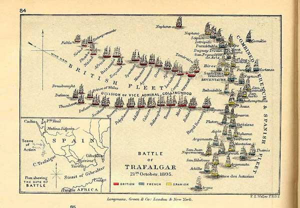 ¿Qué hubiera pasado en Trafalgar si el vicealmirante Pierre Villeneuve y el almirante Horatio Nelson hubieran podido ser usuarios de Business Discovery? - Foto Wikipedia