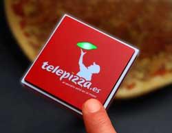 El botón Click&Pizza