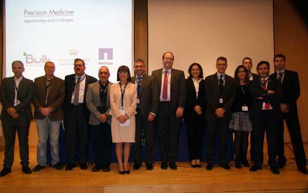 Participantes en la jornada Medicina de Precisión - Oportunidades y Desafíos, organizada por Bull y con la colaboración de NetApp