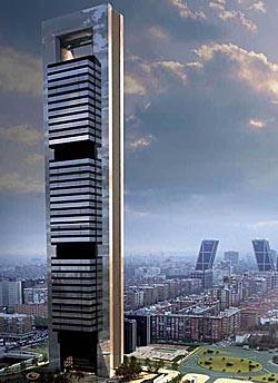 Nueva torre de Caja Madrid en la capital