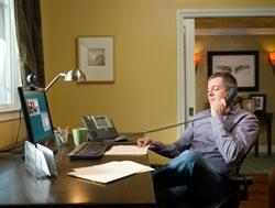 El teletrabajador es entre el 5% y el 25% más productivo