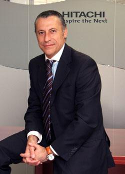 Ángel Fernández, director general de Hitachi Data Systems