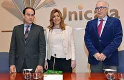 Susana Díaz inauguró la jornada Andalucía.Innovación 2020