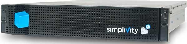 SimpliVity proporciona una única pila de infraestructura de software unificada sobre sistemas x86