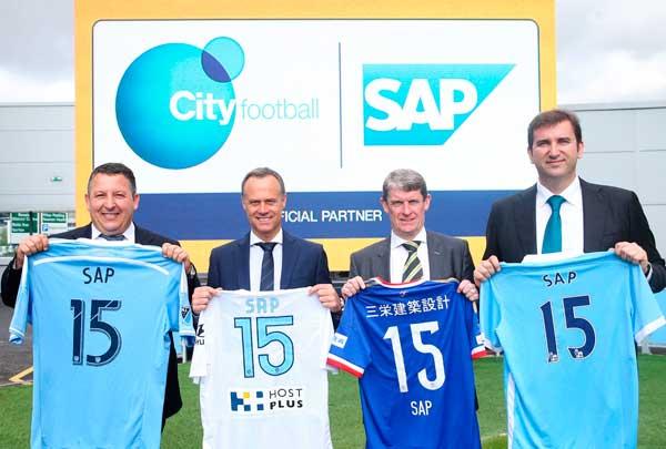 City Football Group utilizará casi todas las soluciones cloud de SAP, entre ellas SuccessFactors, SAP Jam, y SAP Simple Finance potenciada por HANA