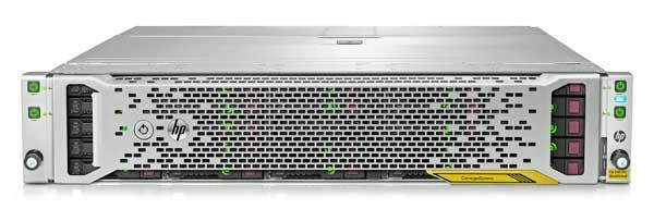 El CS 250 se entrega preconfigurado para vSphere y HP OneView InstantOn