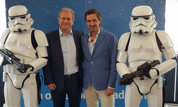 Simon Amselem e Ignacio Fernández-Vega han presentado la alianza en el Festival de Cine de San Sebastián