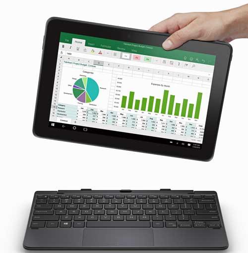 La Dell Venue 10 Pro lleva un techado separable que la convierte en un equipo 2 en 1